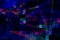 Картинка цвет, треугольник, круг, полумрак, фигура, узор, линии