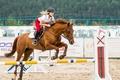 Картинка девушка, конь, спорт