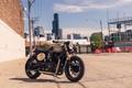 Картинка british, bike, caferacer, BONNEVILLE, city, Triumph, classic, urban, moto