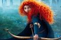 Картинка pixar, Brave's Princess Merida, brave, мультфильм
