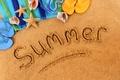 Картинка summer, beach, sand
