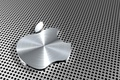 Картинка Apple, Яблоко, Эпл, Алюминий