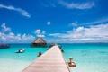 Картинка море, отдых, причал, лето, пляж, отпуск