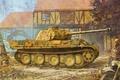 Картинка пантера, вермахт, немцы, средний танк, рисунок, вторая мировая, Sd.Kfz. 171, Panther, PzKpfw V