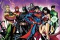 Картинка batman, superman, dark knight, green lantern, wonder woman, cyborg, the flash, Justice League, bruce wayne, ...