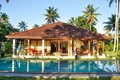 Картинка пальмы, дом, бассейн, House with Pool