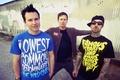 Картинка pop-punk, Blink 182, Tom DeLonge, Mark Hoppus, Travis Barker, music