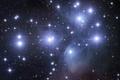 Картинка космос, звезды, туманность, плеяды