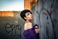 Картинка причёска, Grosh, макияж, девушка, пирсинг, Александр Веселов