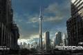 Картинка Square Enix, World War Machine, Jonas De Ro, concept, ruins, Toronto, art