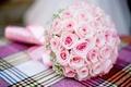 Картинка розовый, букет, Розы, свадьба