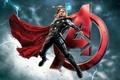 Картинка Avengers: Age of Ultron, Марвел, Бог грома, Мстители: Эра Альтрона, Marvel, Крис Хемсворт, Thor, Тор