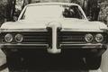 Картинка transport, black and white, vehicle, Pontiac, front, b/w