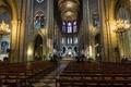 Картинка Франция, неф, скамья, Собор Парижской Богоматели, Париж