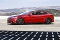 Картинка Red, Car, Sun, Tesla, Wheels, Model S, Glare