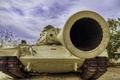 Картинка основной, боевой, ствол, танк, HDR, M60A1, дуло