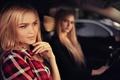 Картинка Иван Горохов, Алла Емельянова, Алёна Емельянова, авто, улыбка, девушки