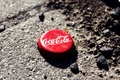 Картинка макро, крышка, coca-cola