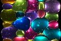 Картинка мозаика, стекло, tiles, abstract, витраж, stained glass, mosaic, colors, colorful, background