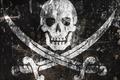 Картинка Пираты, череп