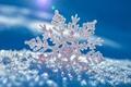 Картинка снег, снежинка, вкрапинки