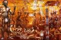 Картинка австралия, картина, история, звуки, музыка, панно, аборигены