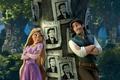 Картинка the movie, объявления, Флинн, разбойник, принцесса, Tangled, Flynn, Запутанная история, волосы, розыск, Wanted, Рапунцель, Rapunzel, ...