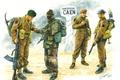 Картинка WW2., парашютисты, арт, британские, солдаты, Канны