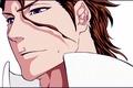 Картинка Sosuke aizen, злодей, мужчина, лицо, арт, аниме, bleach