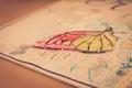 Картинка буквы, текст, бабочка