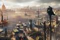 Картинка море, Assassin's Creed: Syndicate, город, порт