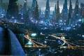 Картинка Akimov Mikhail, Михаил Акимов, ночь, город, дождь