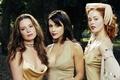 Картинка Роуз МакГоун, Charmed, Rose McGowan, Алисса Милано, зачарованные, актрисы, Alyssa Milano, Holly Marie Combs, Холли ...