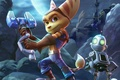 Картинка hair, gloves, Ratchet & Clank, Sony, gun, Ratchet and Clank Movie, tail, Ratchet, Clank, Insomniac, ...