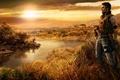 Картинка Закат, герой, far cry 2