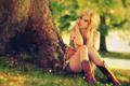 Картинка взгляд, блондинка, красивая, Blonde