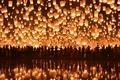 Картинка Loi Krathong Festival, Floating Lanterns, Chiang Mai