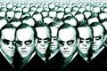 Картинка Агент Смит, много, матрица, головы, очки, The Matrix