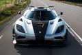 Картинка скорость, дорога, суперкар, гиперкар, auto, передок, машина, Koenigsegg, One:1, wallpaper