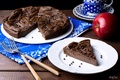 Картинка яблоко, пирог, шоколадный