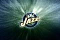 Картинка NBA, Фон, Utah Jazz, Джаз, Горы, Логотип, Юта, Баскетбол