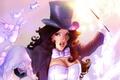Картинка DC Comics, волшебство, Zatanna, кролики, волшебная палочка, заклинание