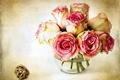 Картинка ваза, flowers, цветы, розы, цветок, роза, цвет, розовый, королева цветов, pink, roses
