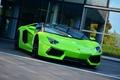 Картинка Aventador, Roadster, Lamborghini, Green