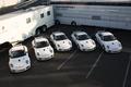 Картинка фургоны, кары, порше, белые, Porsche Develops New 911 GT3