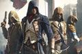 Картинка Assassin's Creed, Arno, Арно, Ubisoft Montreal, Assassin's Creed: Единство, Оружие, Собор, Assassin's Creed: Unity, Капюшон, ...