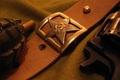 Картинка Ремень, граната, револьвер, война, армия