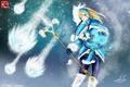 Картинка Игры, Crystal Maiden, Defense of the Ancients, Game, Дота 2, Dota 2, Девушка, Rylai
