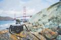 Картинка canon, мост, фотоаппарат, камера, камни, объектив
