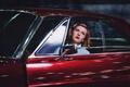 Картинка стиль, retro, American Dream, pin-up, Ford Galaxy Lowrider, Анна Калашникова